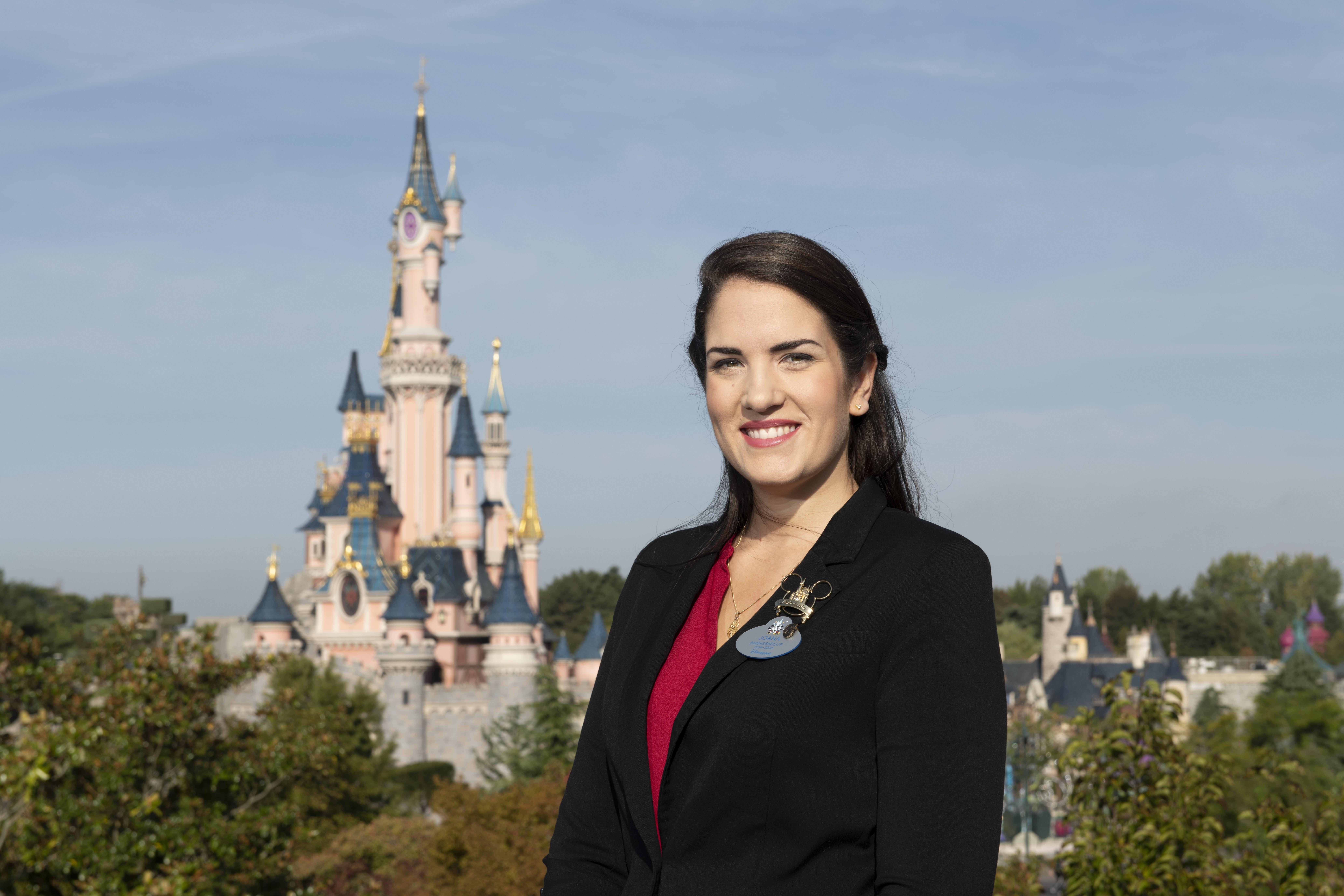 Joana Afonso Santiago, Ambassadrice Disneyland Paris 2019-2020