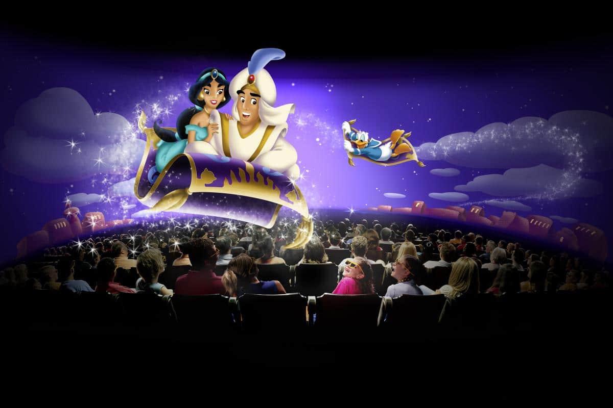Séquence d'Aladdin dans Mickey et son Orchestre PhilharMagique
