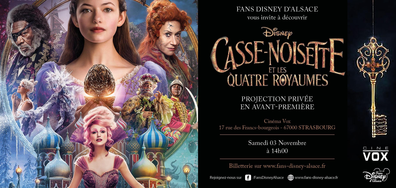 Avant-première de Casse-Noisette et les Quatre Royaumes