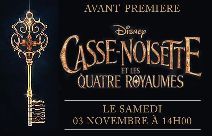 Projection de Casse-Noisette et les Quatre Royaumes