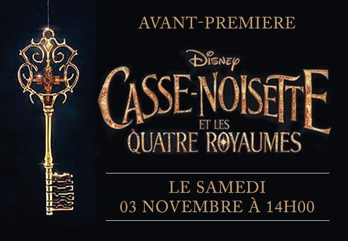 Projection de Casse-Noisette et les Quatre Royaumes