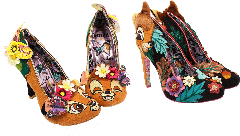 Chaussure Irregular Choice X Disney Bambi
