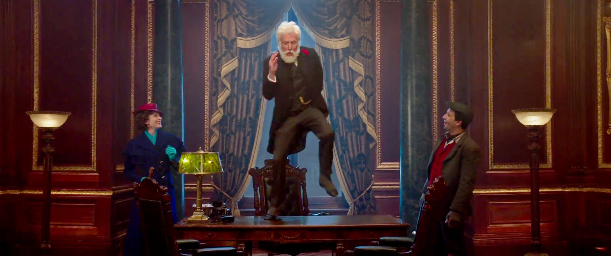 Dick Van Dyke dans Le Retour de Mary Poppins