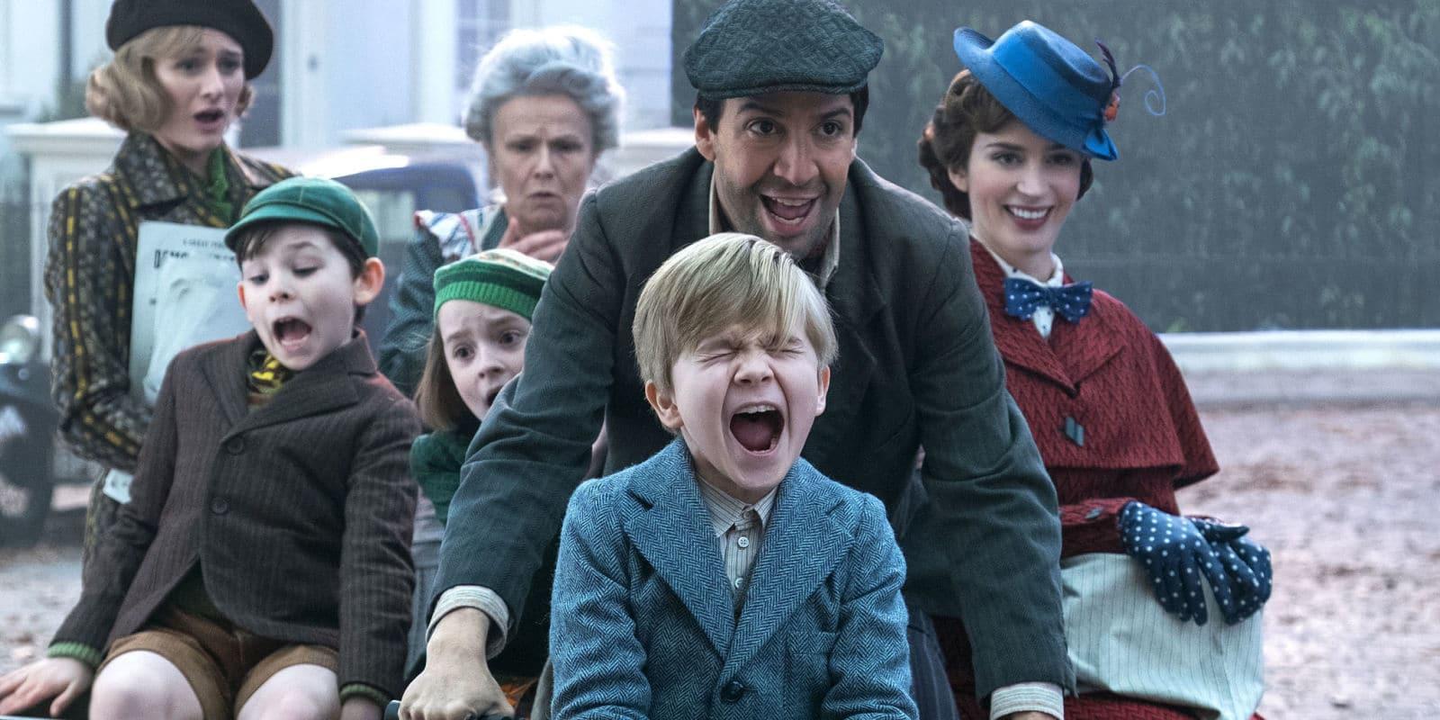Le Retour de Mary Poppins avec Emily Blunt et Lin Manuel Miranda