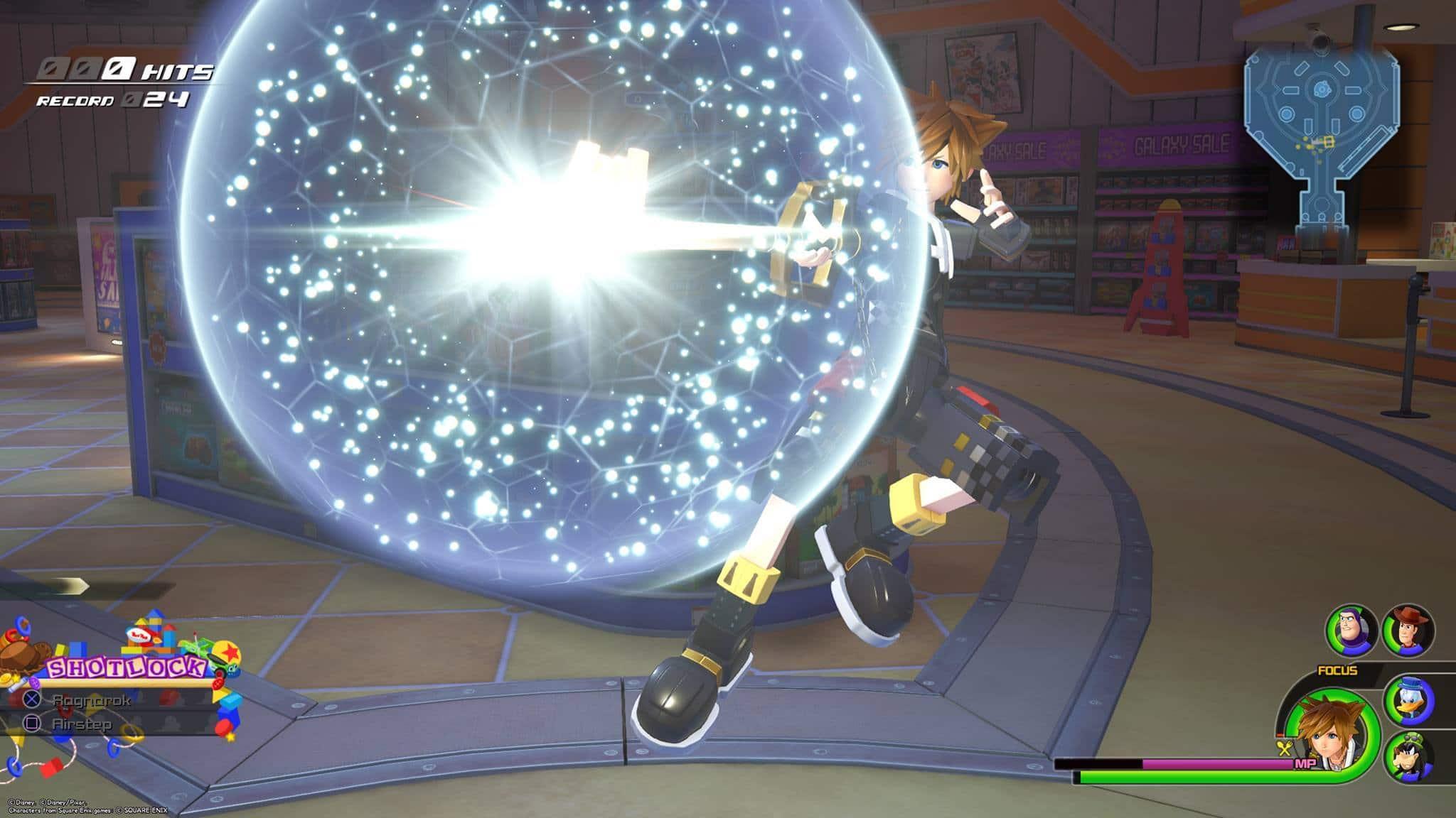 Les invocations de Kingdom Hearts 3