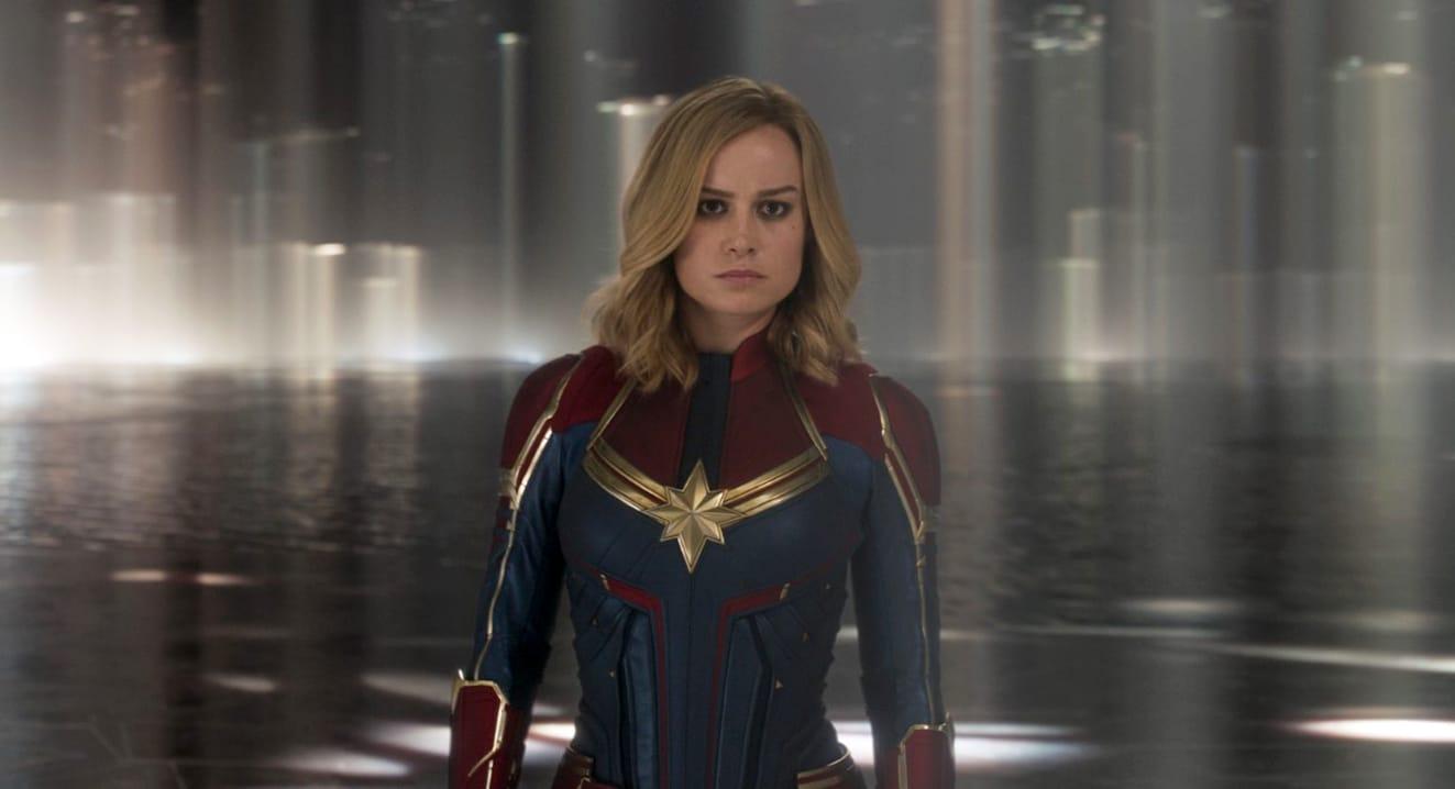 Brie Larson est Captain Marvel / Carol Danvers