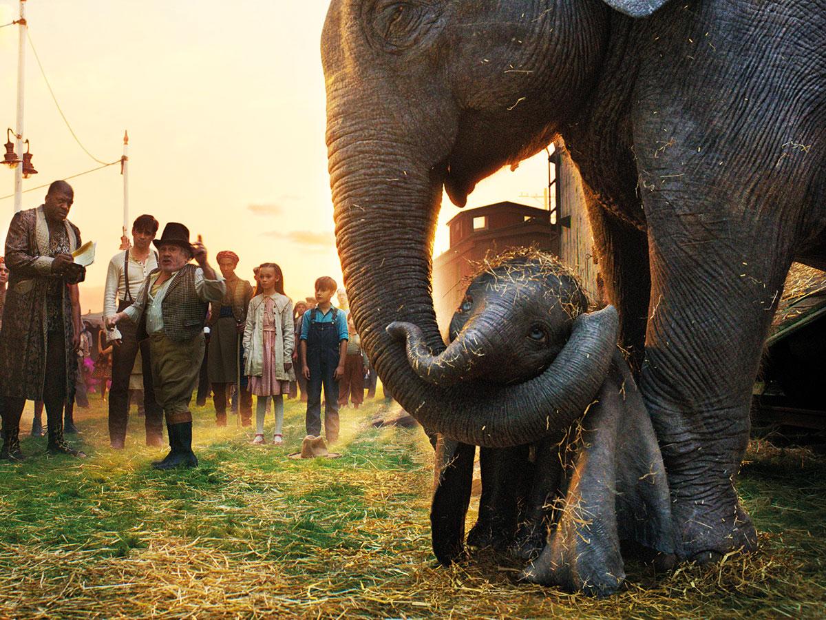 Dumbo de Tim Burton