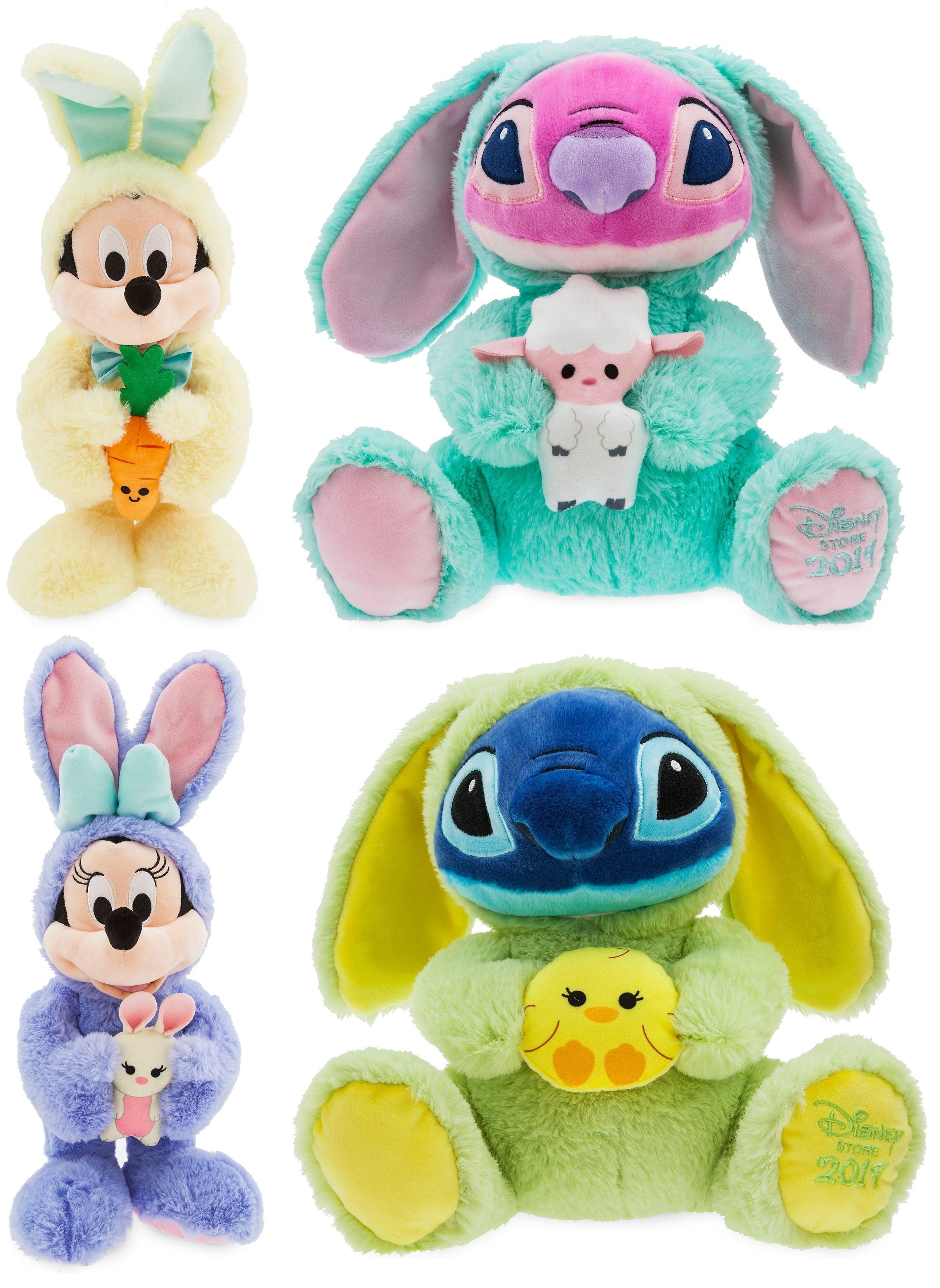 Peluches Disney de Pâques