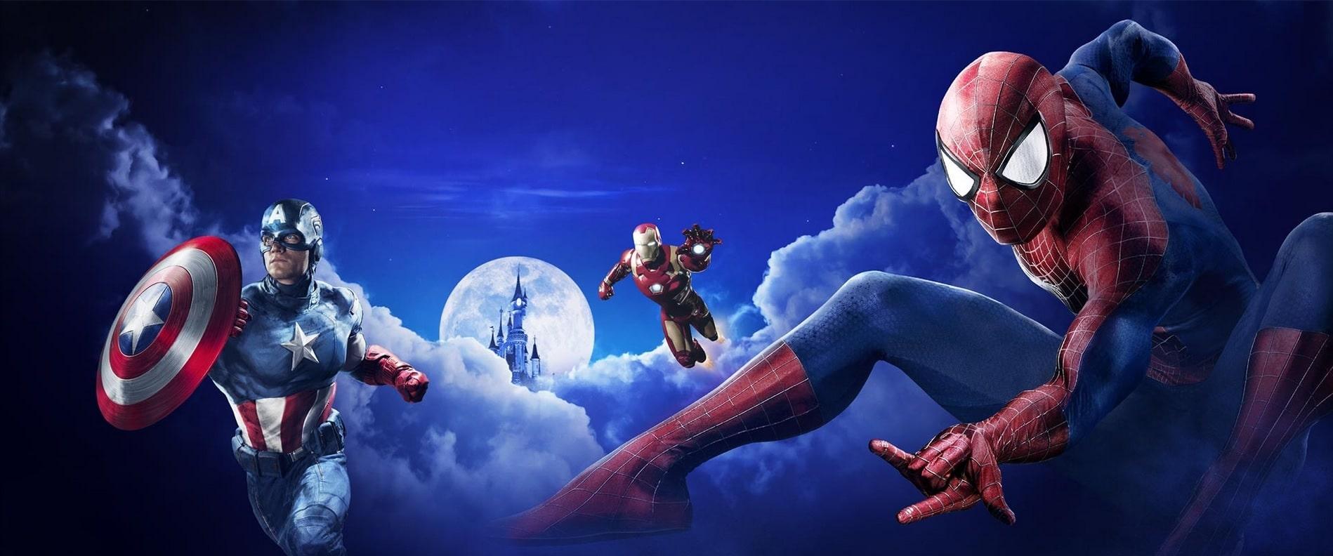 La Saison des Super Héros Marvel à Disneyland Paris