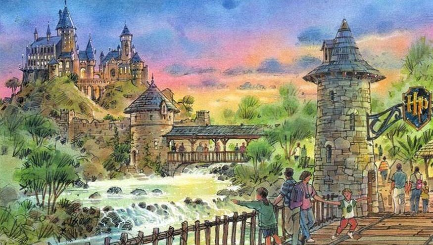 Wizarding World of Harry Potter Concept, Universal's Islands of Adventure