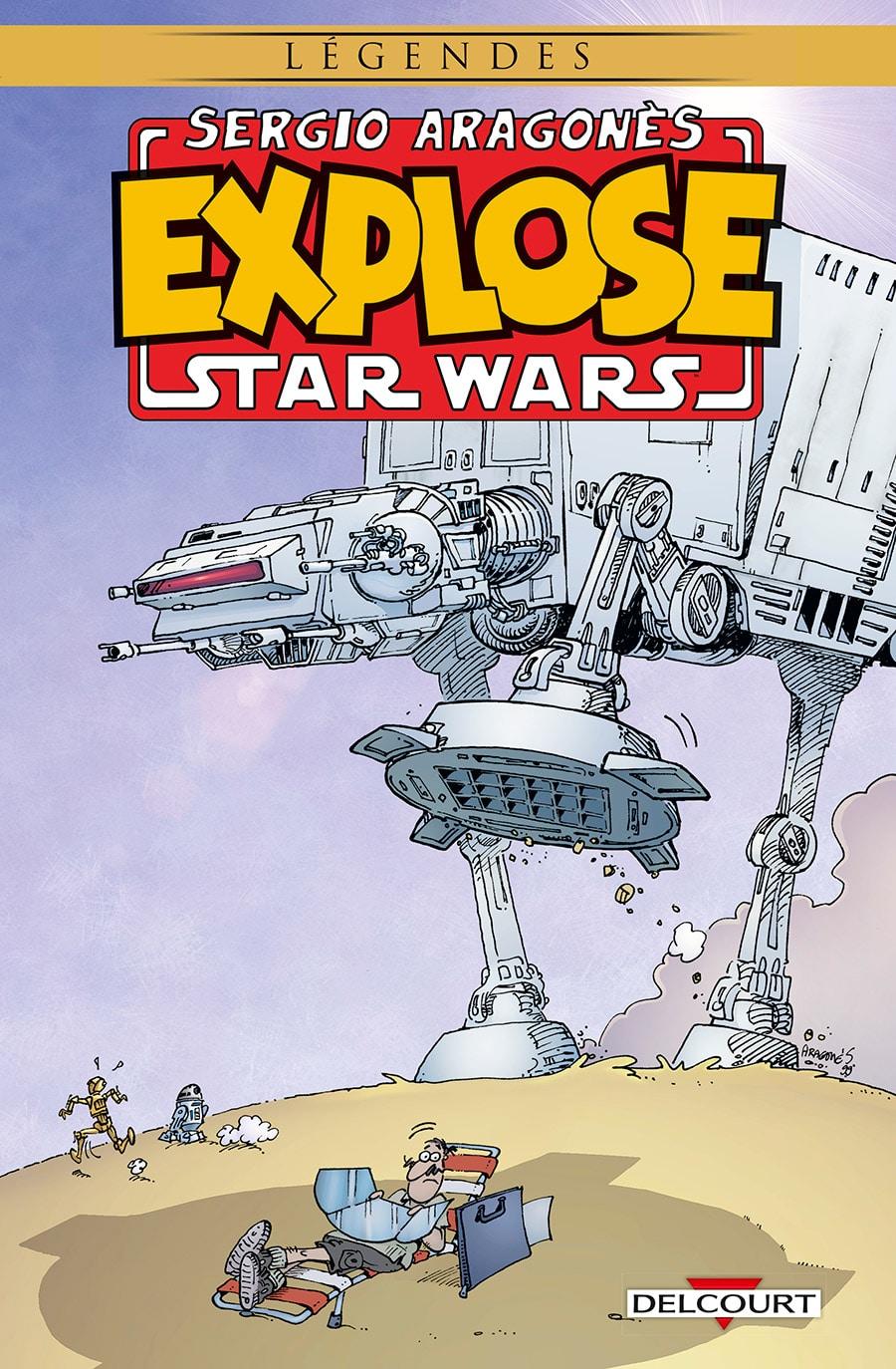 Sergio Aragones eplose Star Wars
