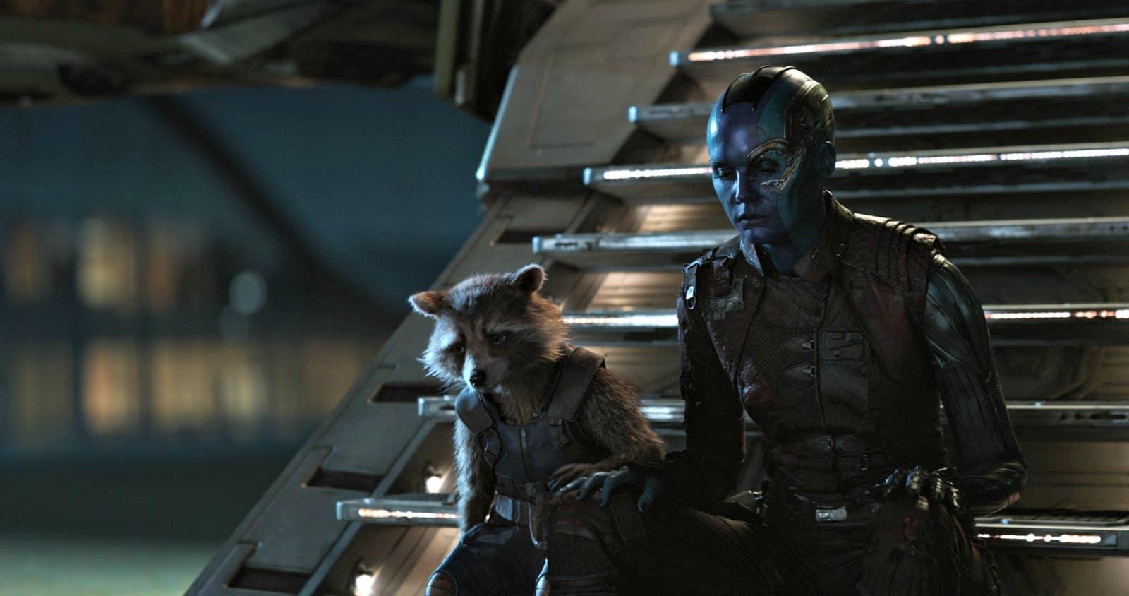 Avengers : Endgame avec Bradley Cooper et Karen Gillan