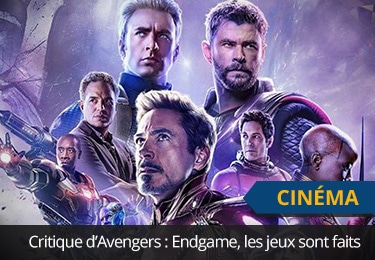Critique d'Avengers 4 : Endgame