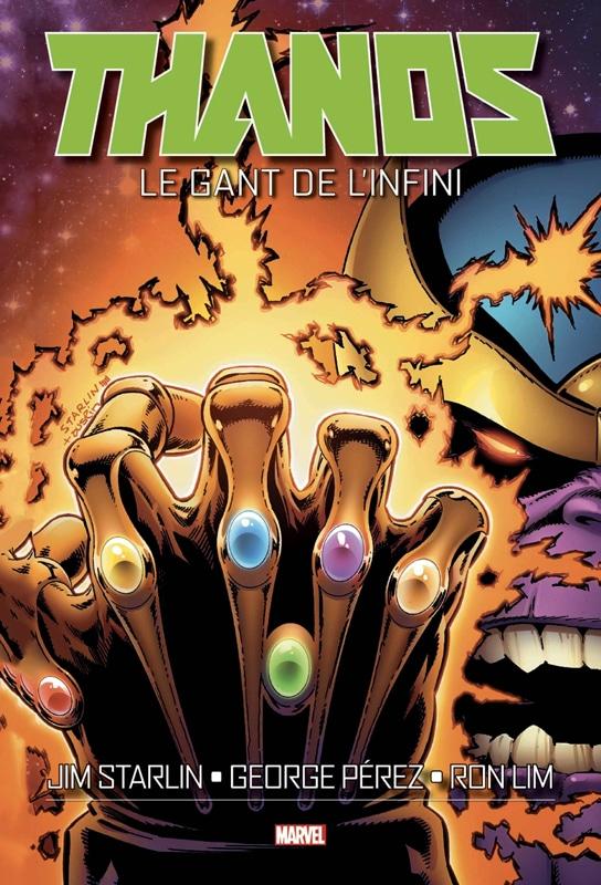 Le Gant de l'Infini - Marvel Comics