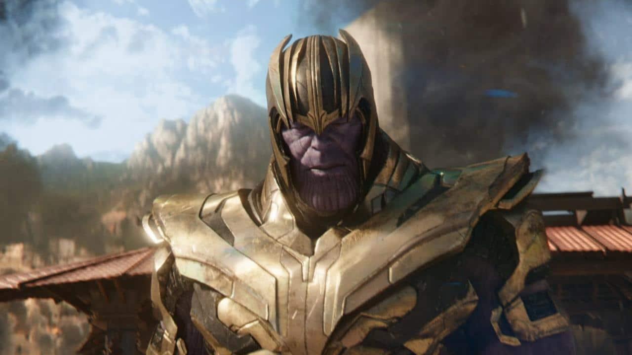 Thanos (Josh Brolin) dans Avengers : Endgame