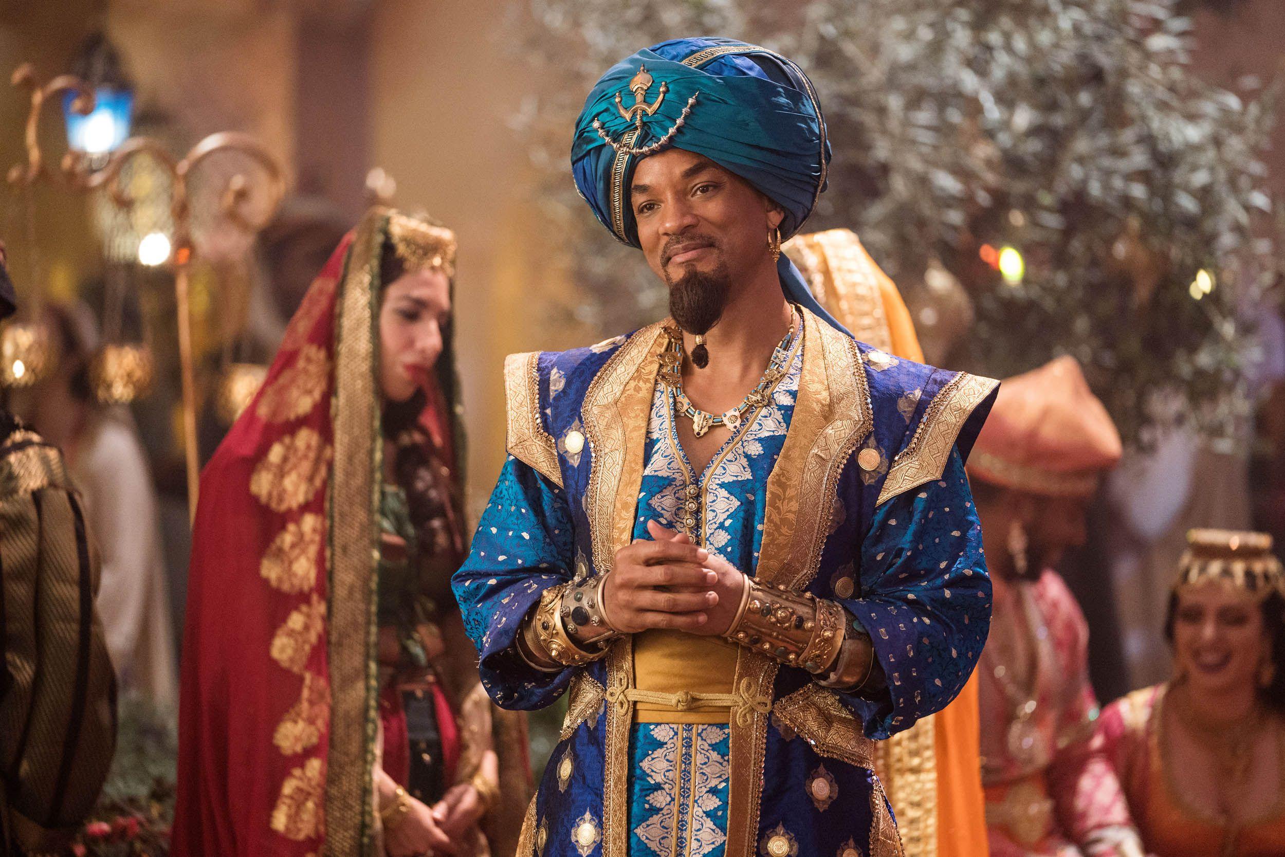 Will Smith est le Génie dans Aladdin
