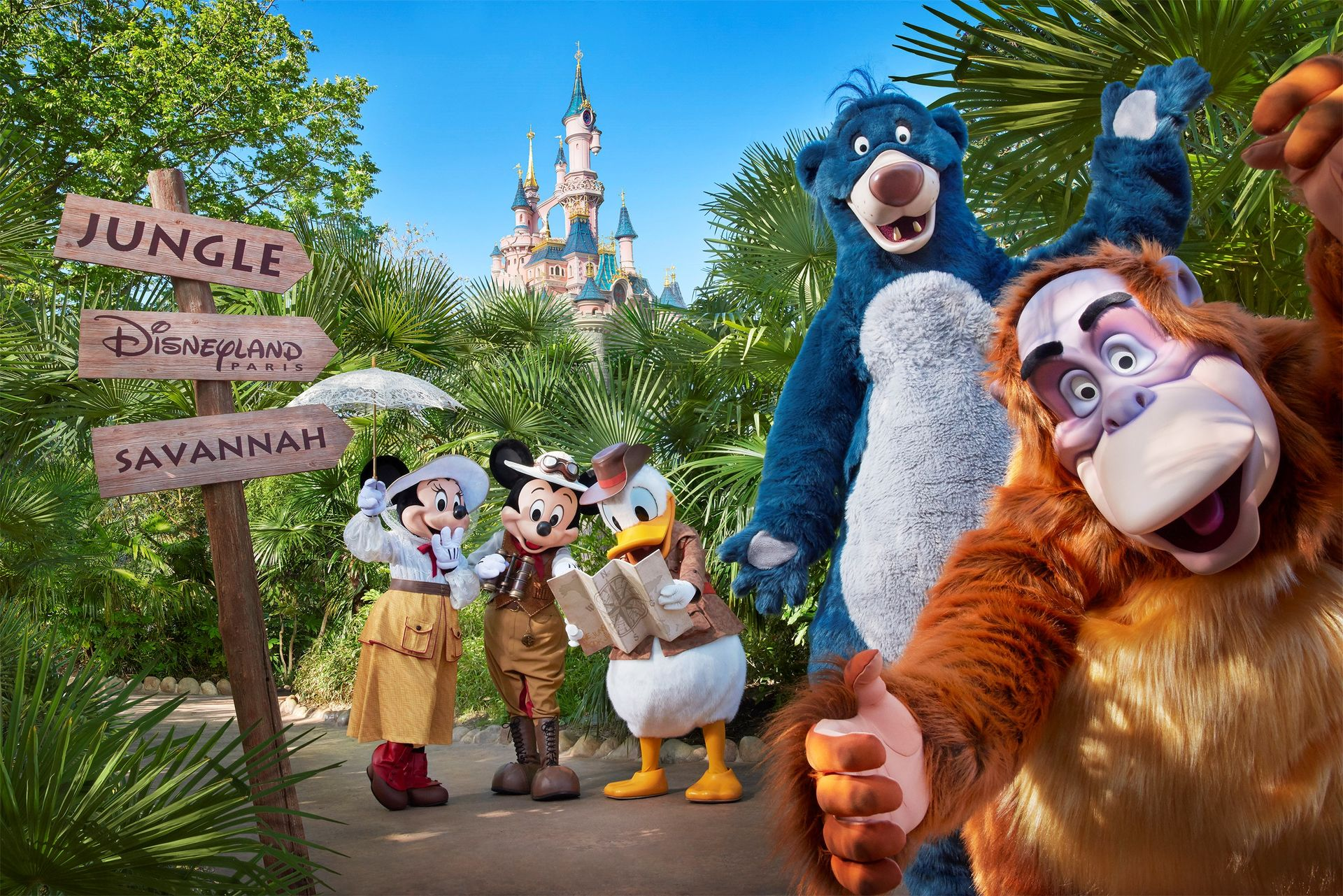 Jungle Book Jive à Disneyland Paris