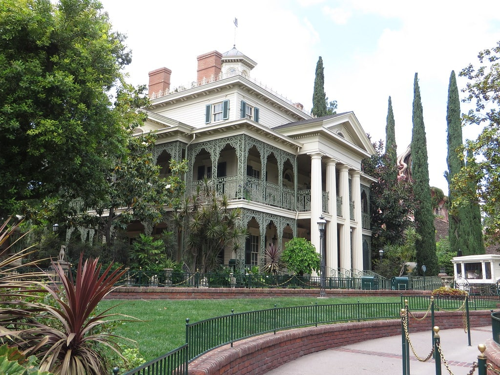 Haunted Mansion à Disneyland en Californie