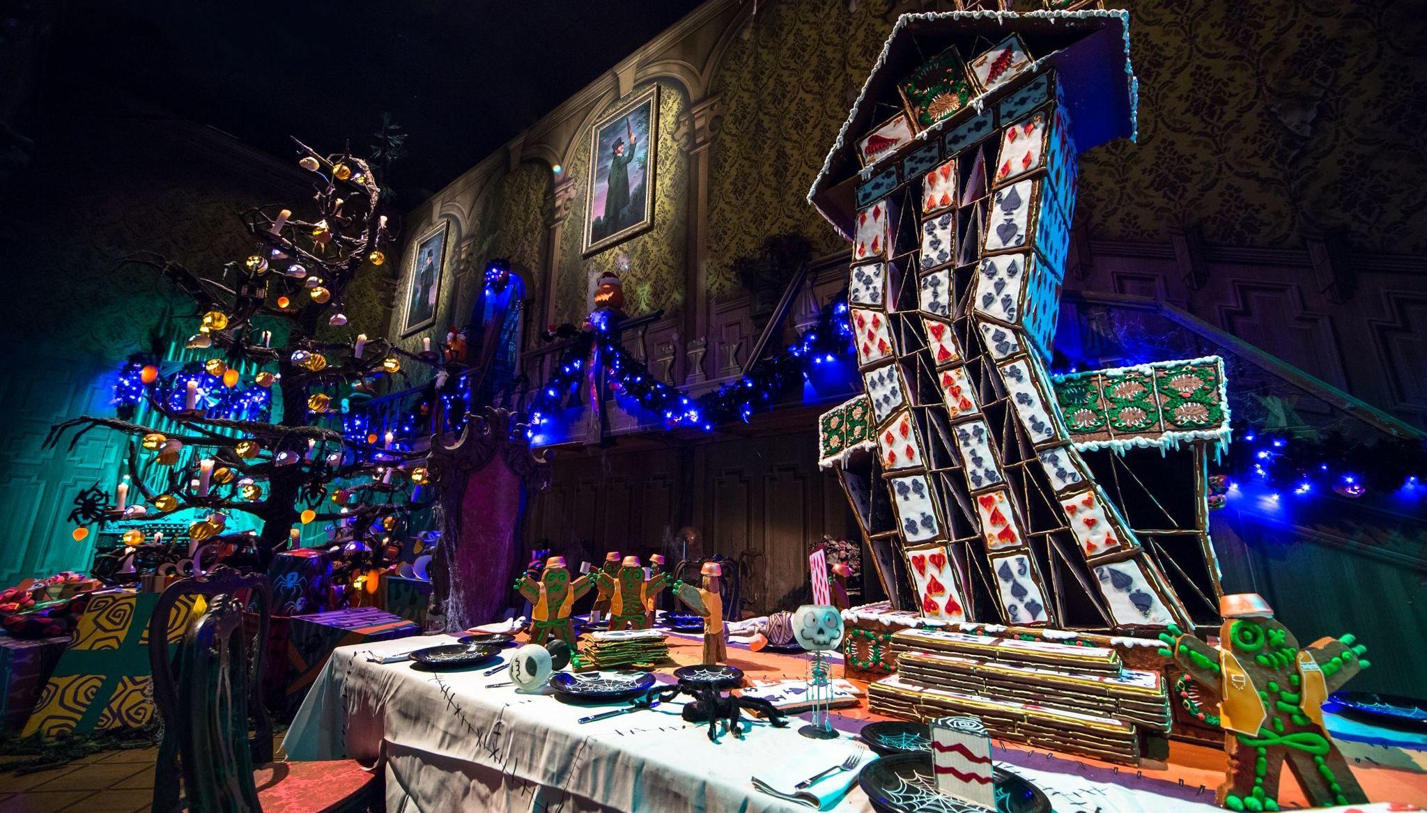 Haunted Mansion Holiday à Disneyland (Californie)