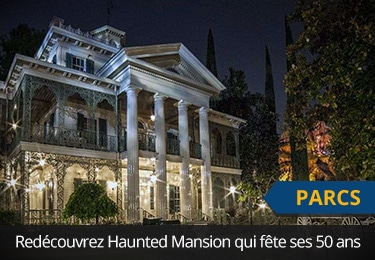 Haunted Mansion à Disneyland fête ses 50 ans