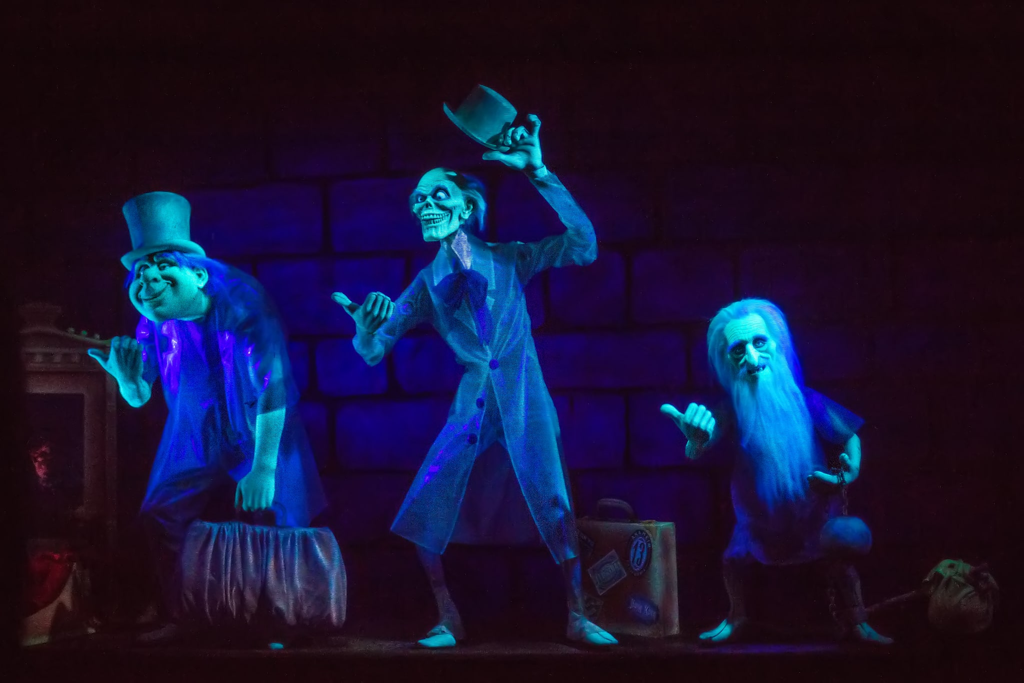 Hitchhiking Ghosts de Haunted Mansion / Source : disneydining.com