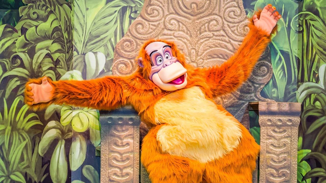 Le Roi Louie du Livre de la Jungle