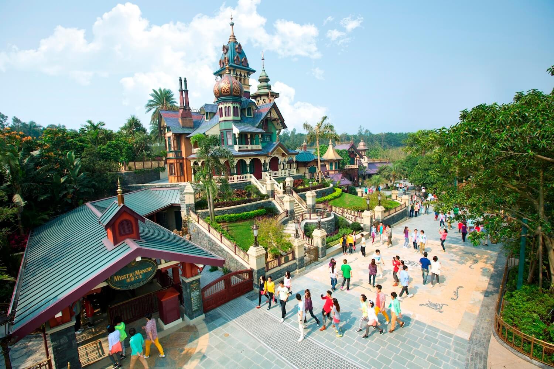 Mystic Point à Hong Kong Disneyland