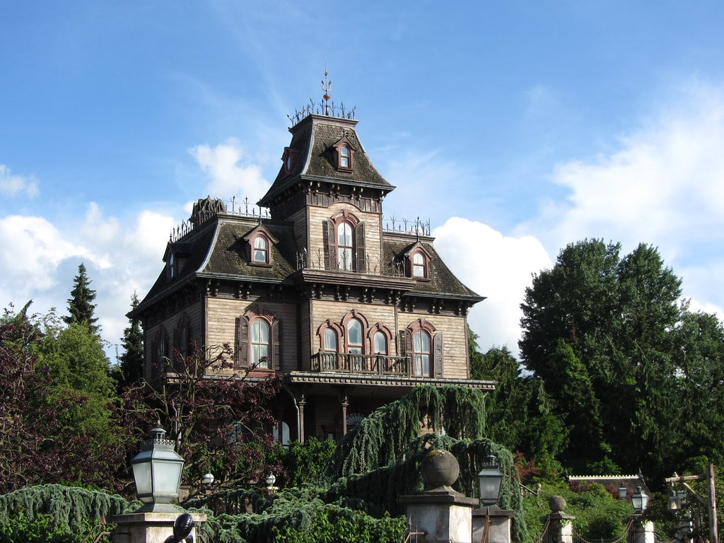 Phantom Manor à Disneyland Paris