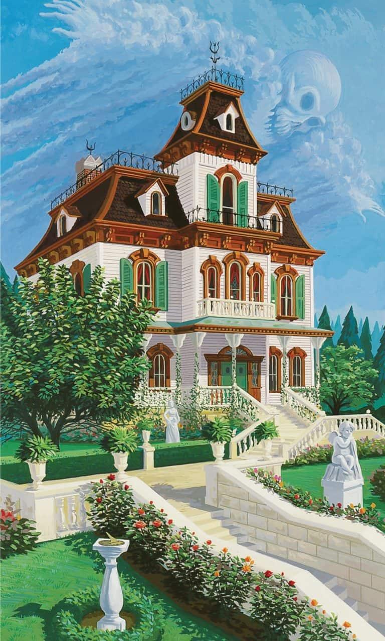 Le Manoir Ravenswood de Disneyland Paris, par Julie Svendsen
