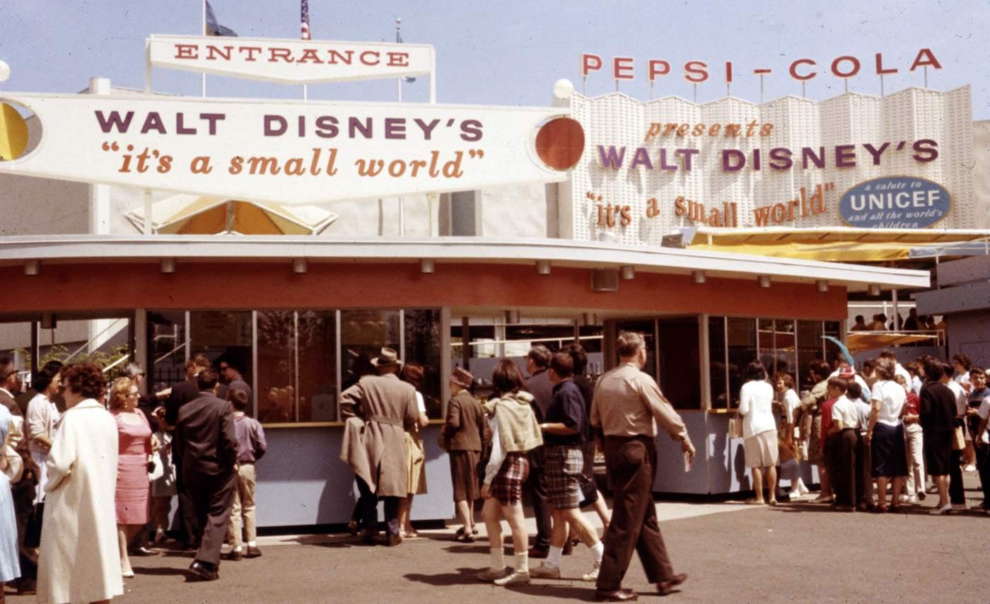 It's A Small World à la Foire Internationale de New-York en 1964