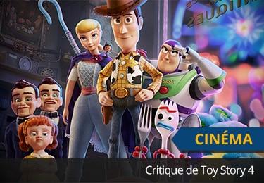 Critique de Toy Story 4
