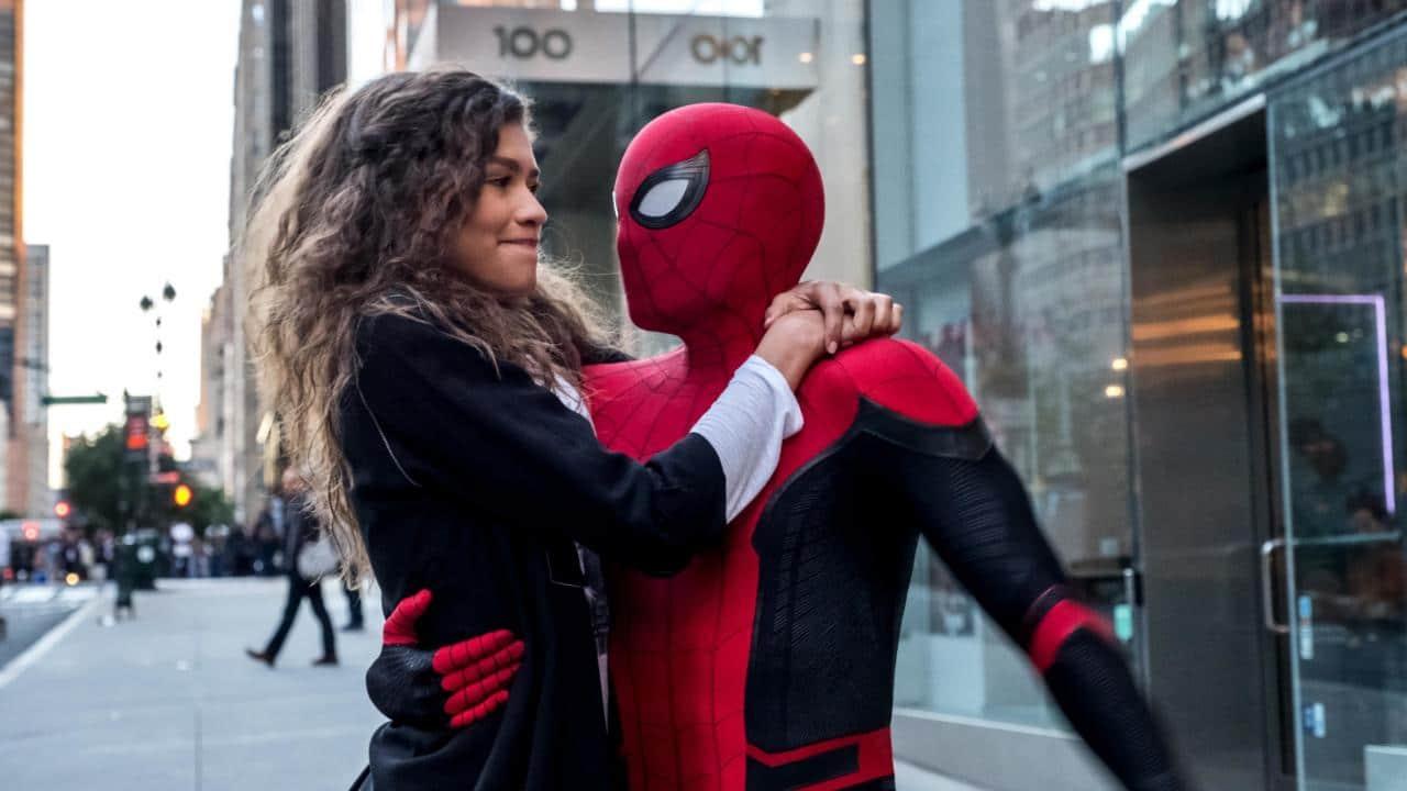 Zendaya et Tom Holland dans Spider-Man : Far From Home