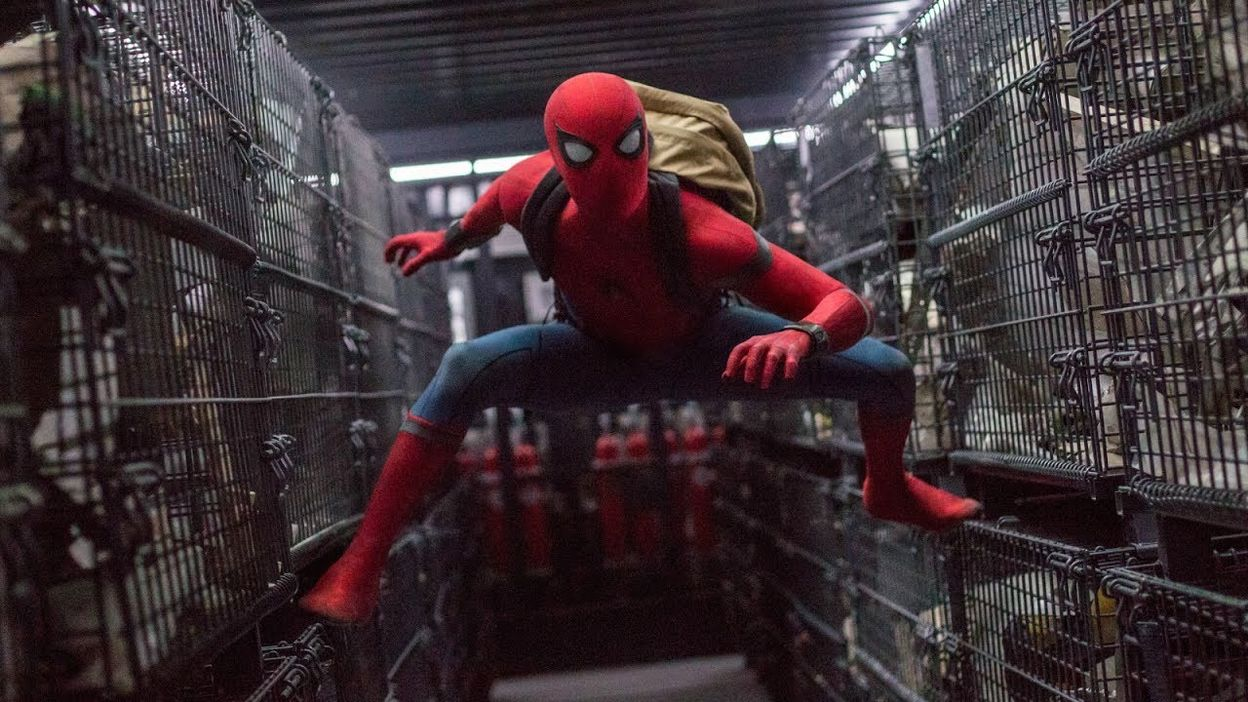 Tom Holland dans Spider-Man : Far From Home