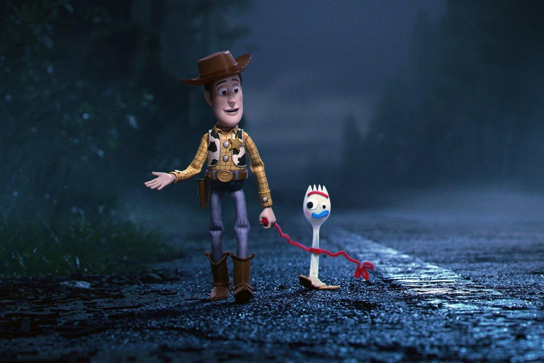 Le retour de Woody accompagné de Fourchette