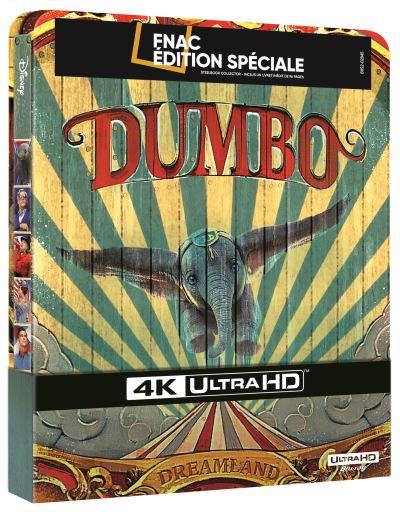 Edition Steelbook de Dumbo à la Fnac
