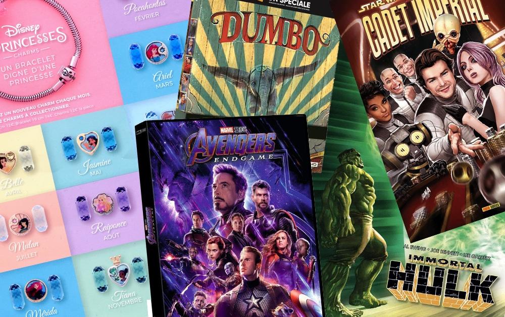 Sorties Disney d'août 2019