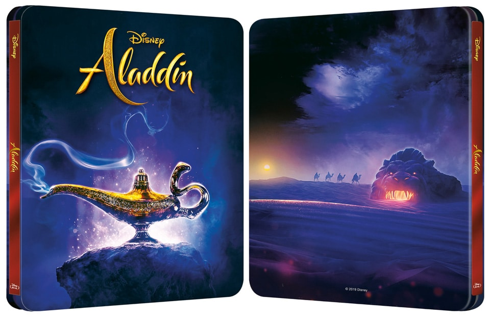 Steelbook d'Aladdin