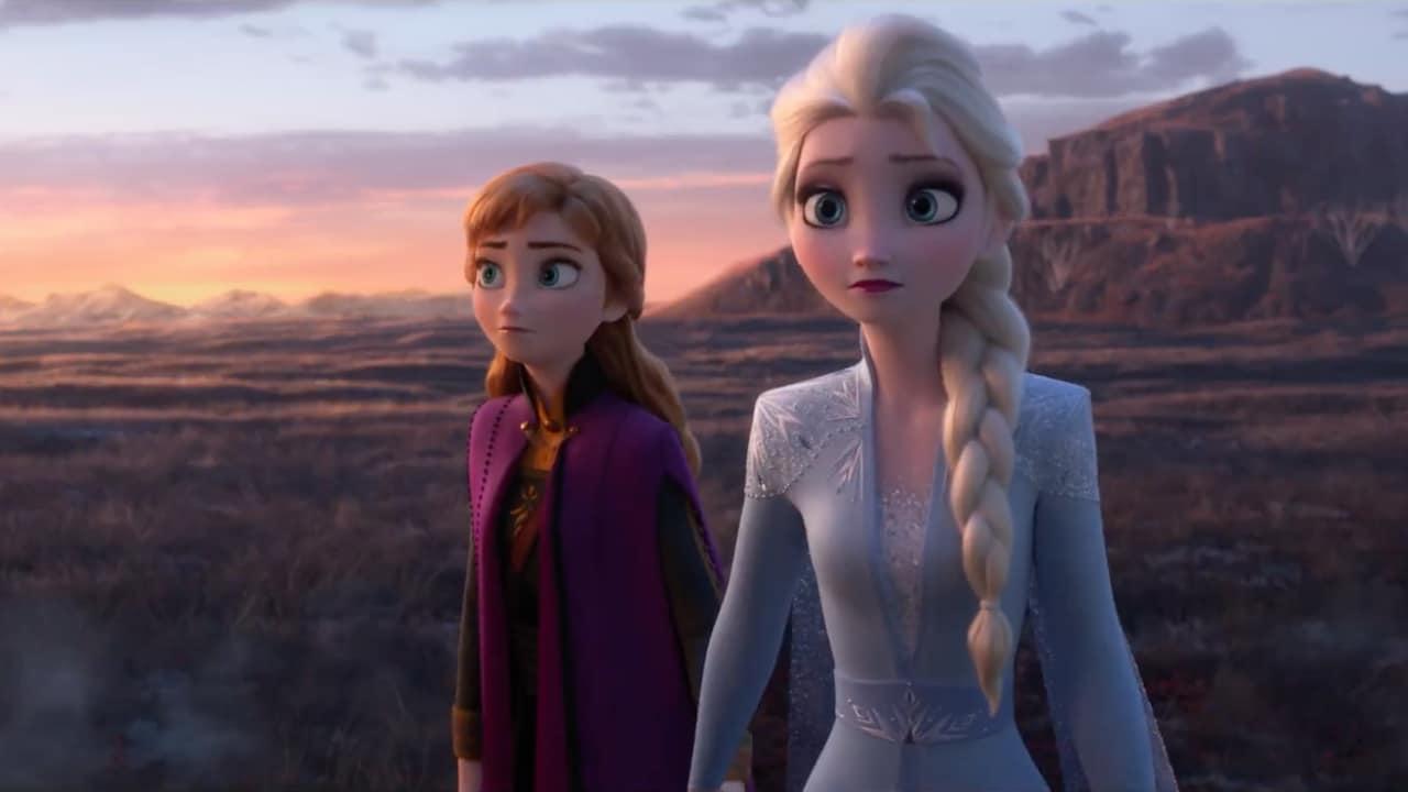 Anna et Elsa dans La Reine des Neiges 2