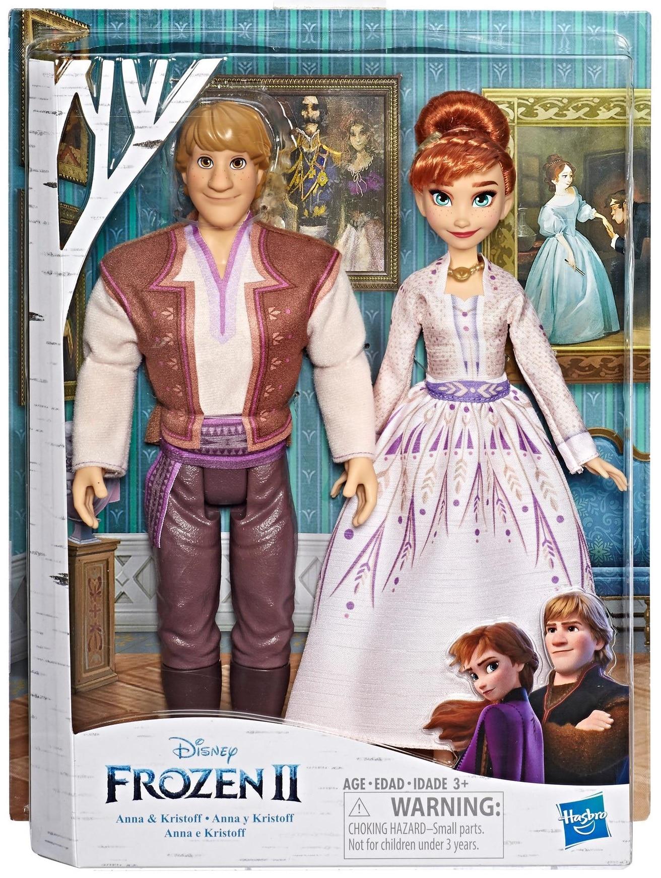 Poupée Le Reine des Neiges 2, Anna et Kristoff