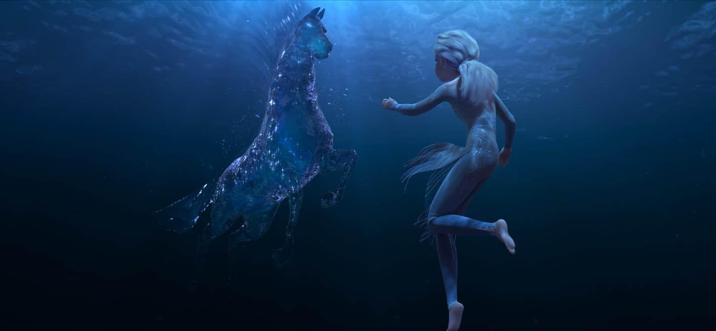Nokk et Elsa dans la Reine des Neiges 2