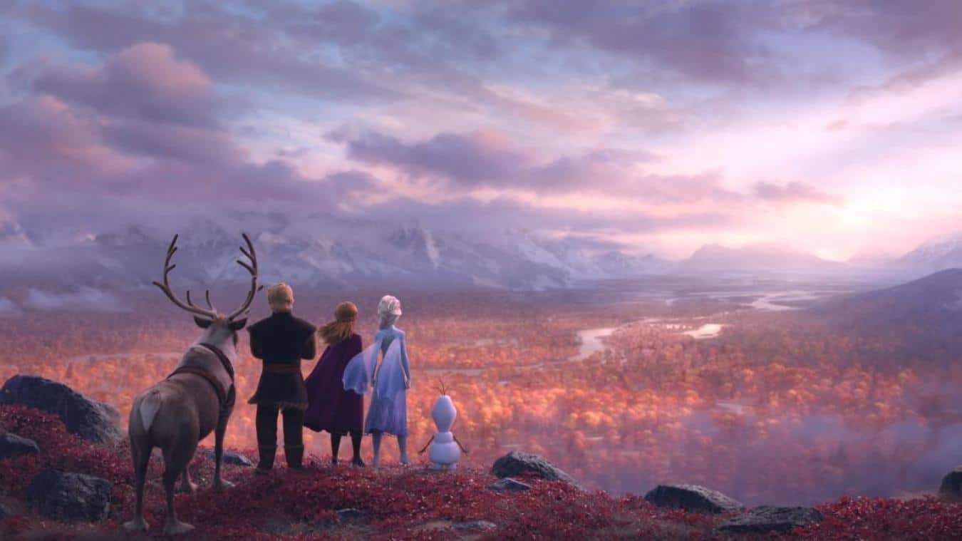 La Forêt Enchantée dans La Reine des Neiges 2