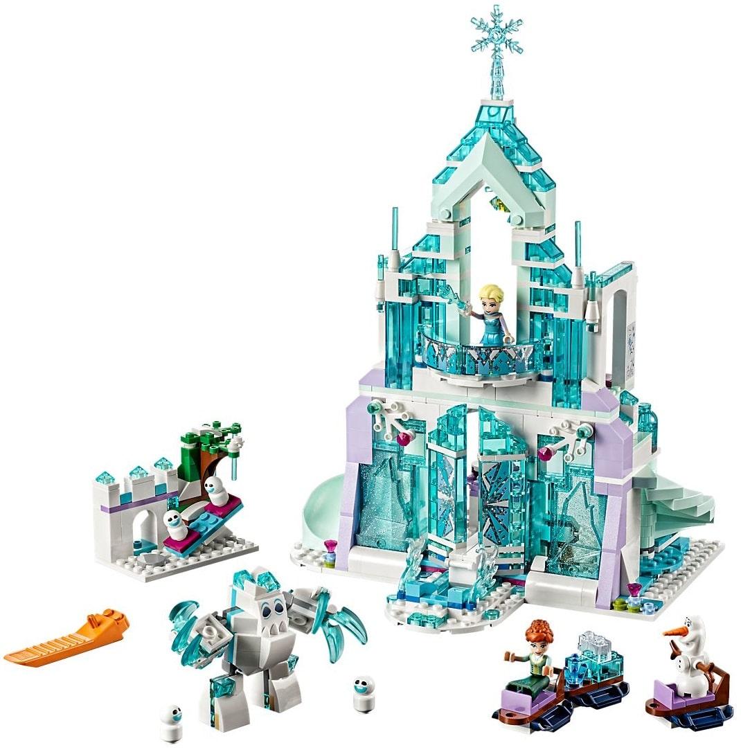 Le palais de la reine des glaces d'Elsa