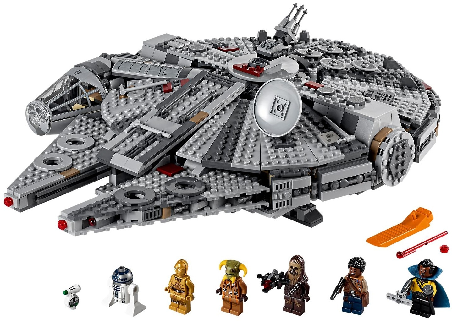 Le Faucon Millenium en Lego