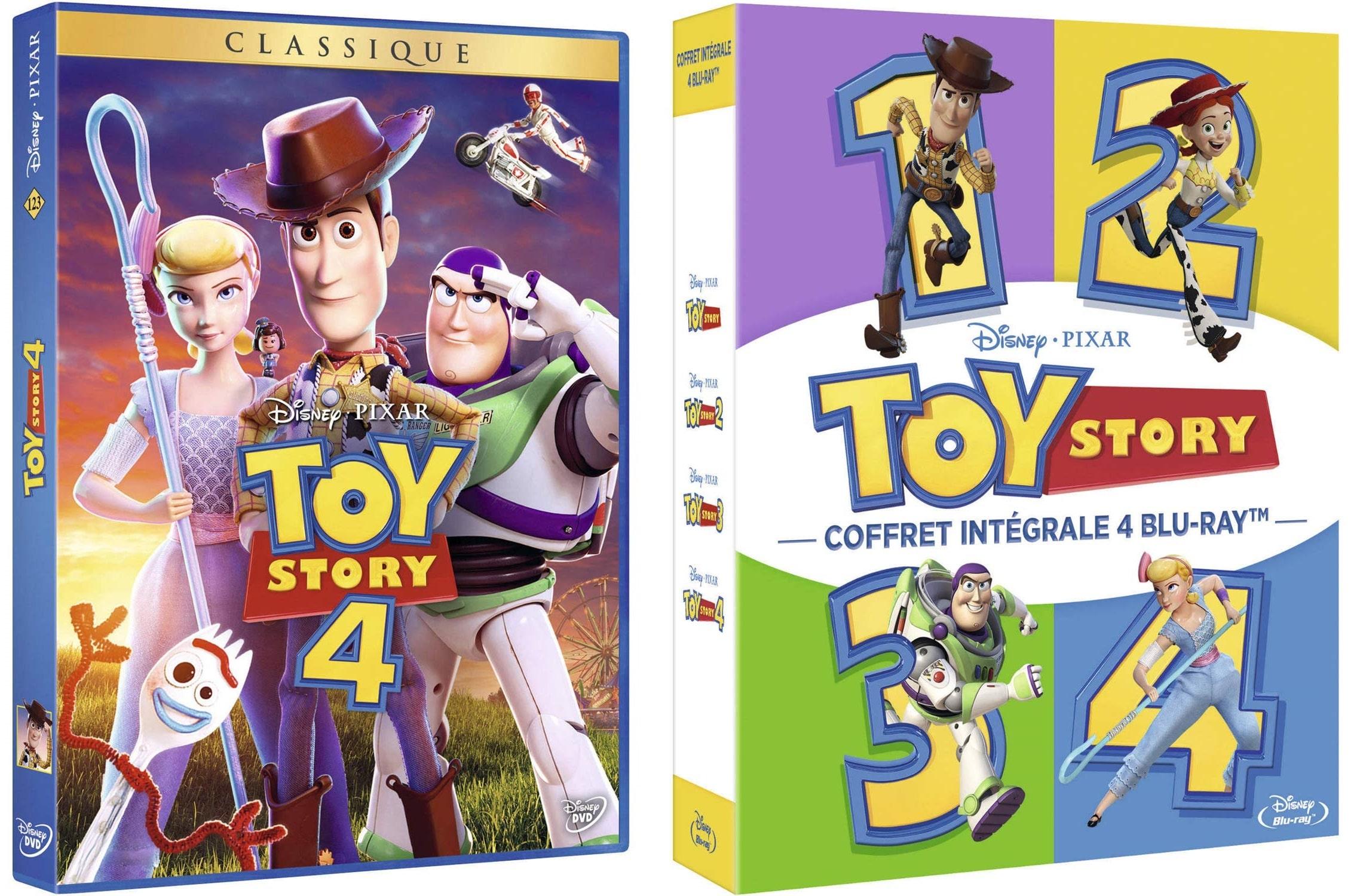 Sortie vidéo de Toy Story 4